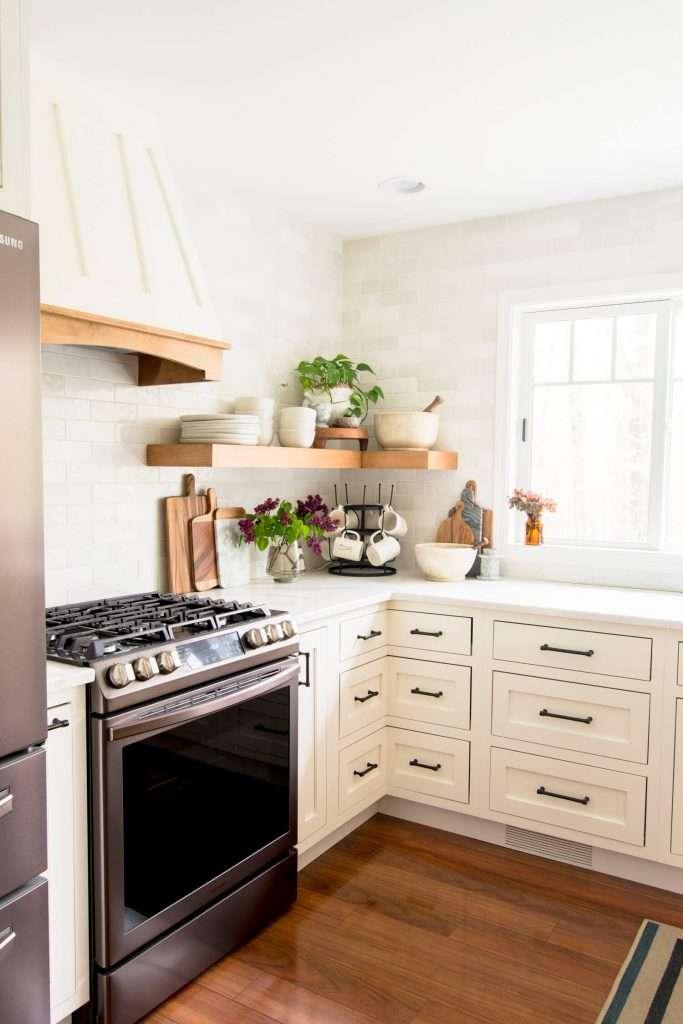 Corner cabinet ideas for the kitchen.