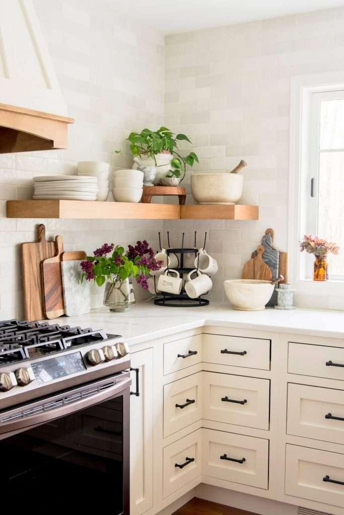 Corner cabinet ideas in a kitchen remodel