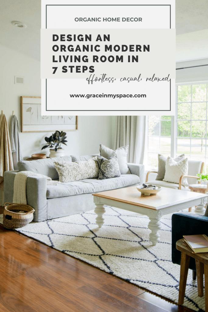 Design an Organic Modern Living Room in 7 Steps