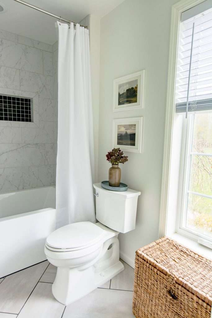 Toilet and shower stall