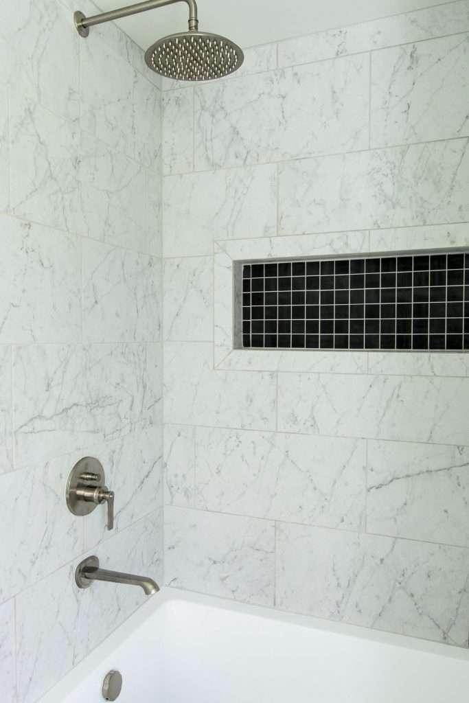 shower renovation cost for tile