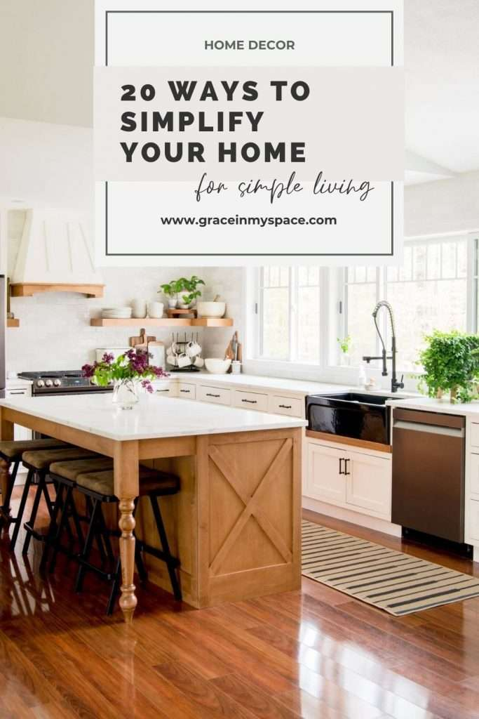 20 Ways to Simplify Your Home for Summer Quickly