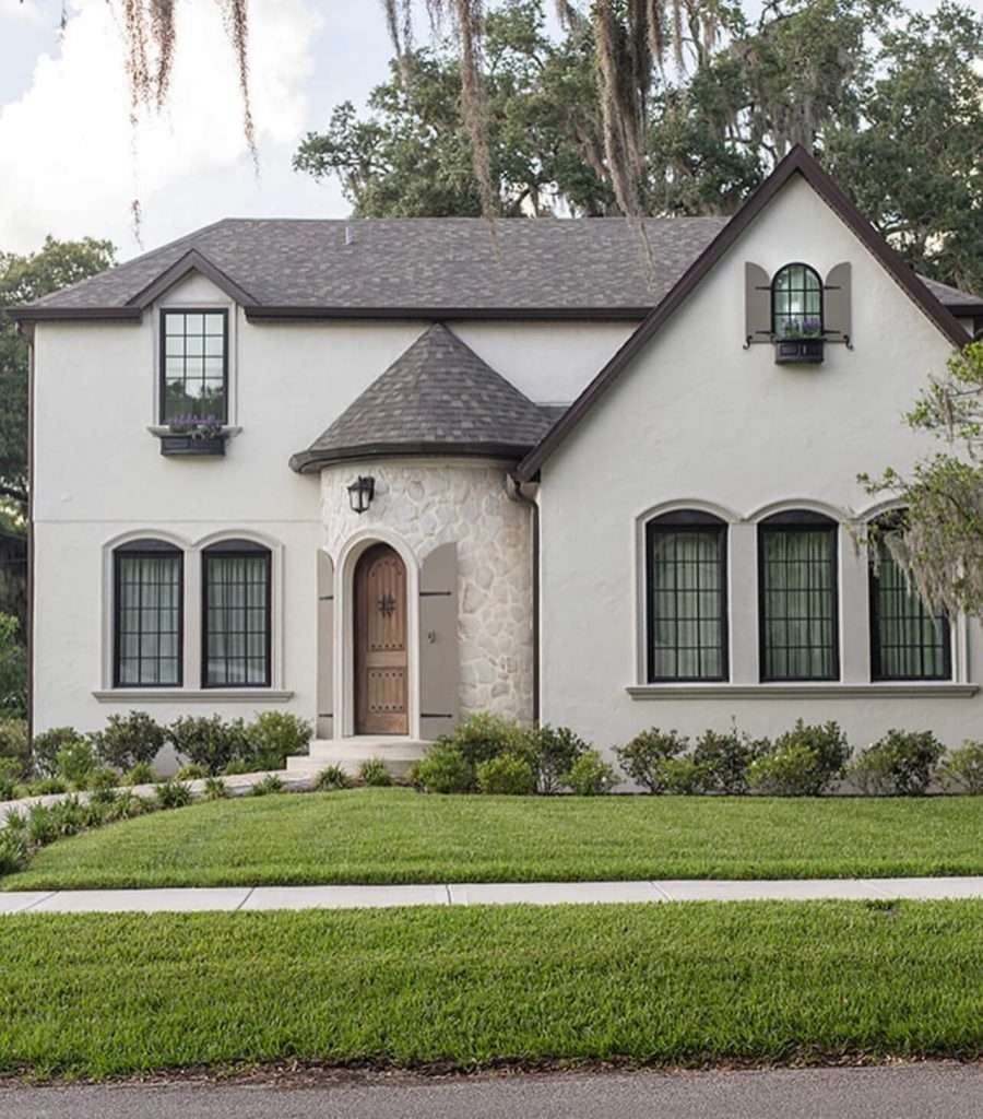 Oyster white exterior paint
