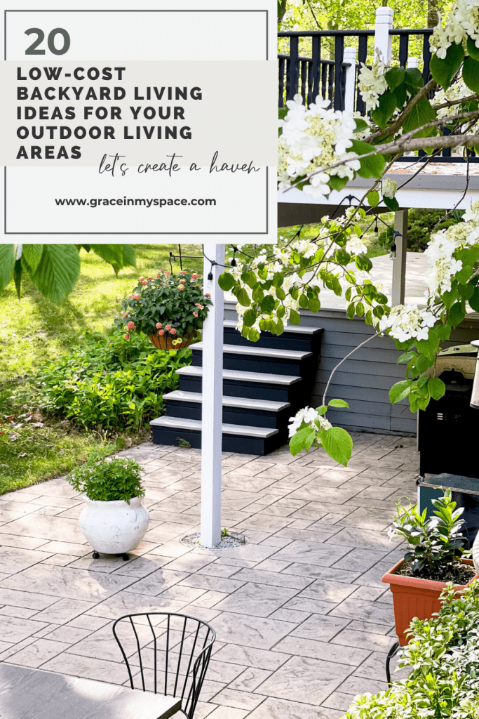 Low-Cost Backyard Living Ideas for your Outdoor Living Areas