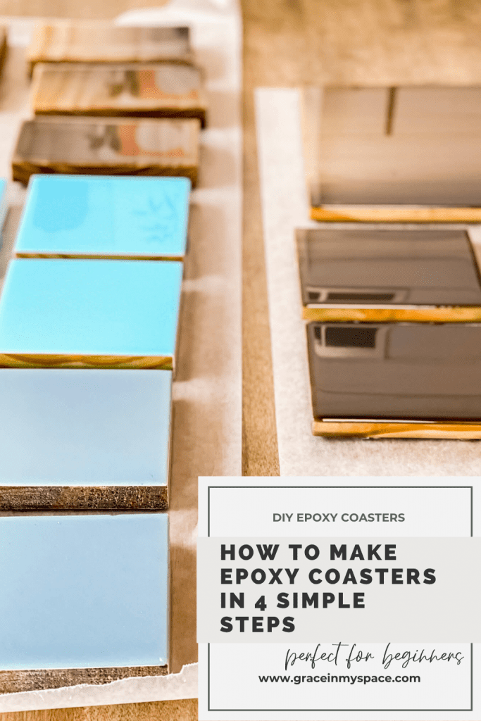 How to Make DIY Epoxy Coasters in 4 Simple Steps