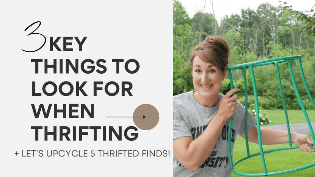 3 key elements to look for when thrifting