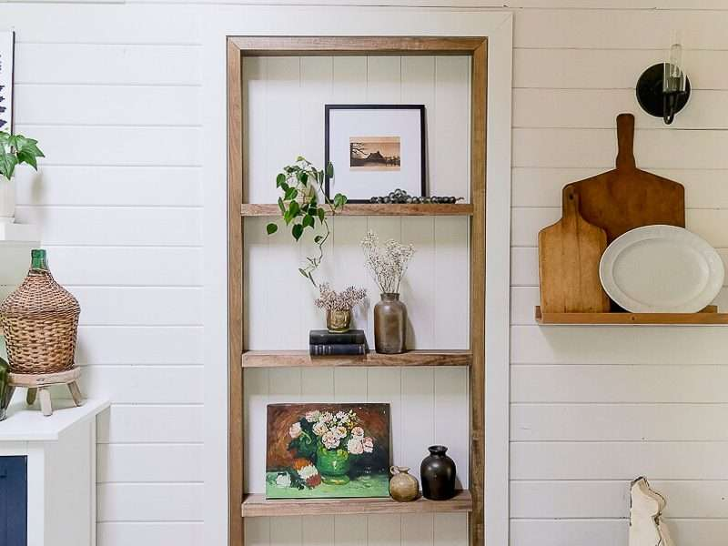 How to Make Custom Built Ins In An Existing Doorway
