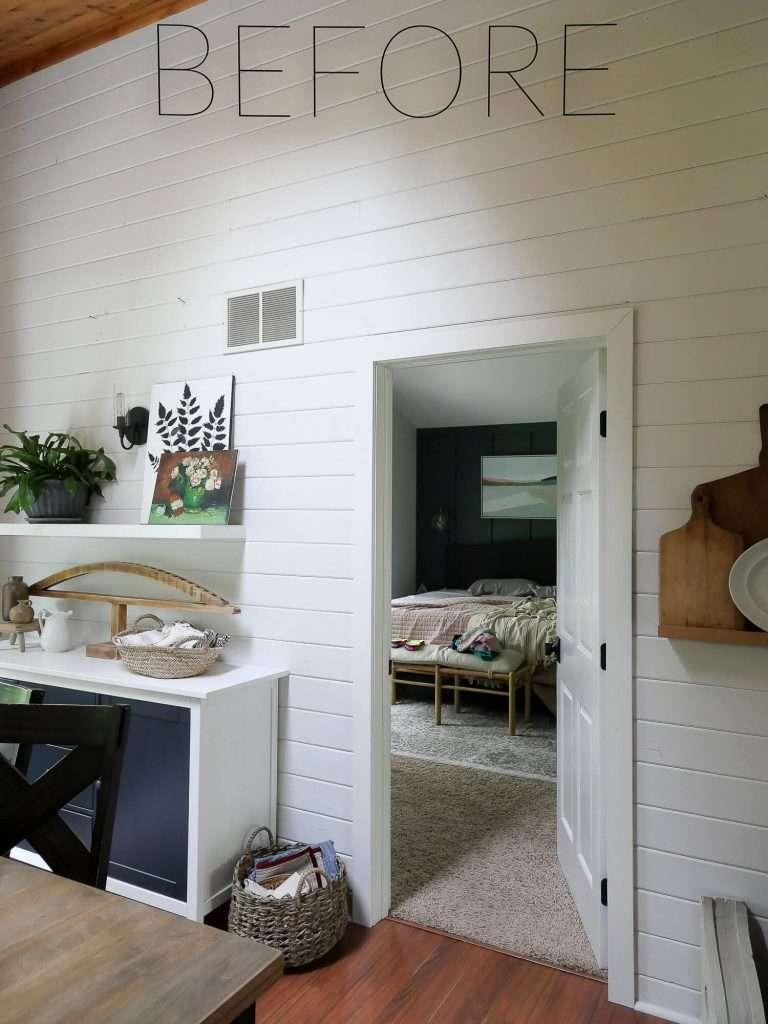 Before photo open doorway