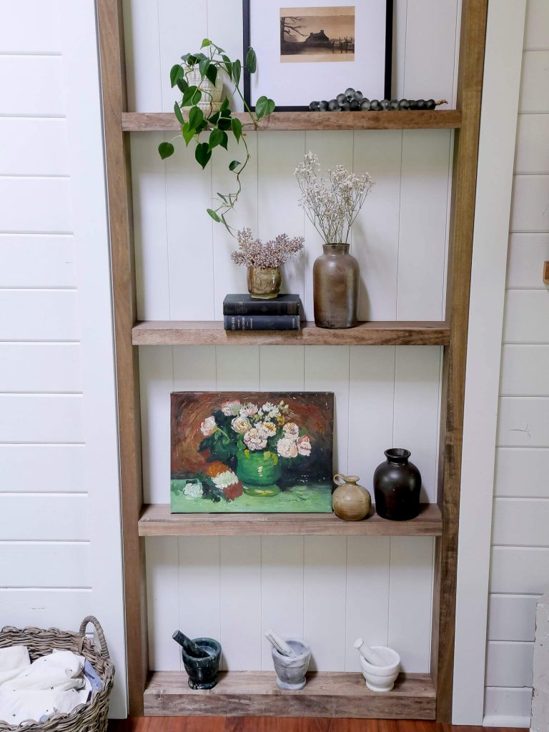 DIY shelf build