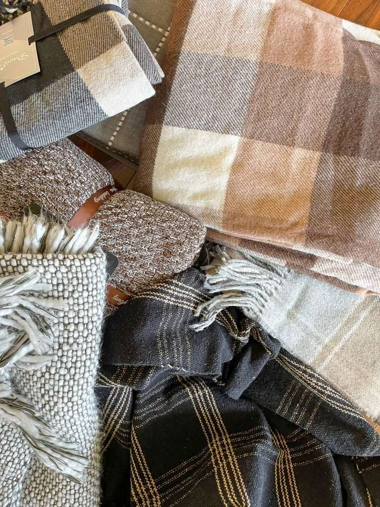 Fall blankets and textiles