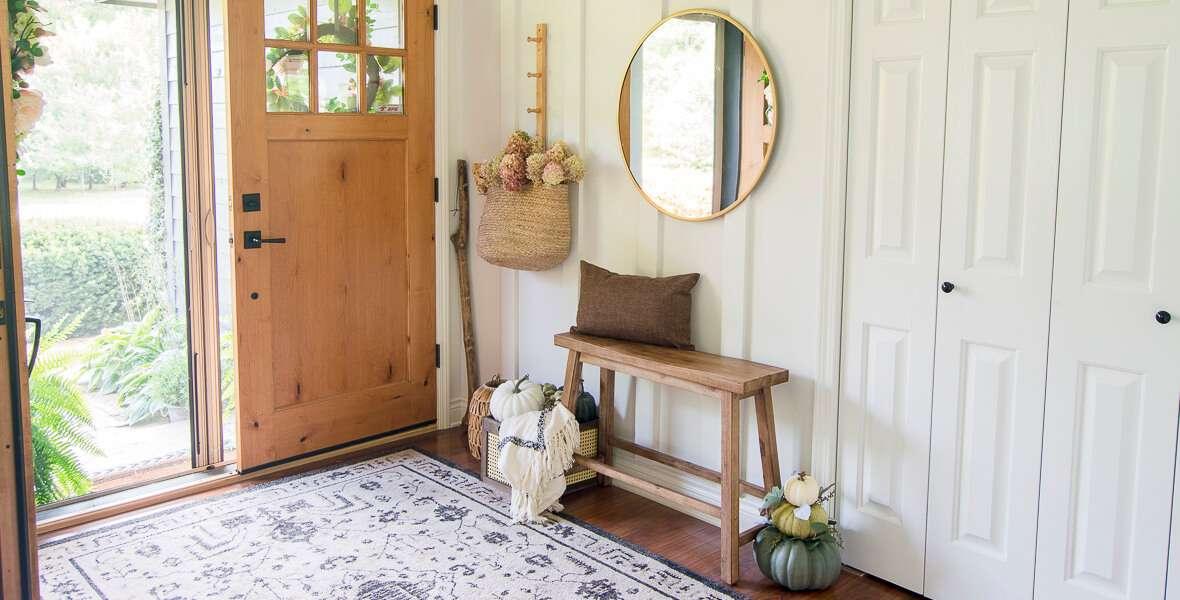 Rustic Farmhouse Fall Decor With A Modern Twist