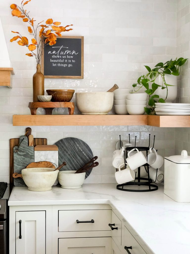 Fall kitchen decor.